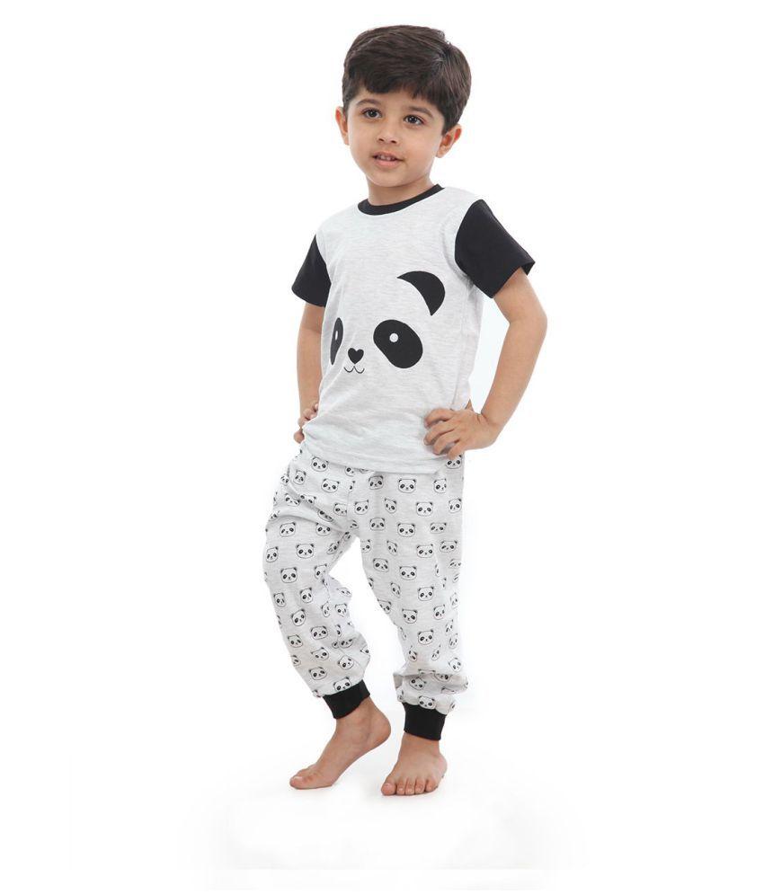 18037f2f83 Nite Flite Boys Panda Print Cotton Pj set - Buy Nite Flite Boys ...