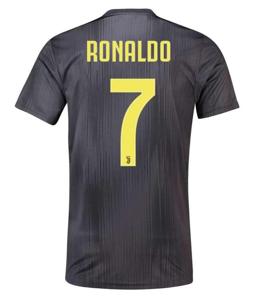 the best attitude ed4a6 a68b9 Juventus Third Football Jersey With Ronaldo Written at Back
