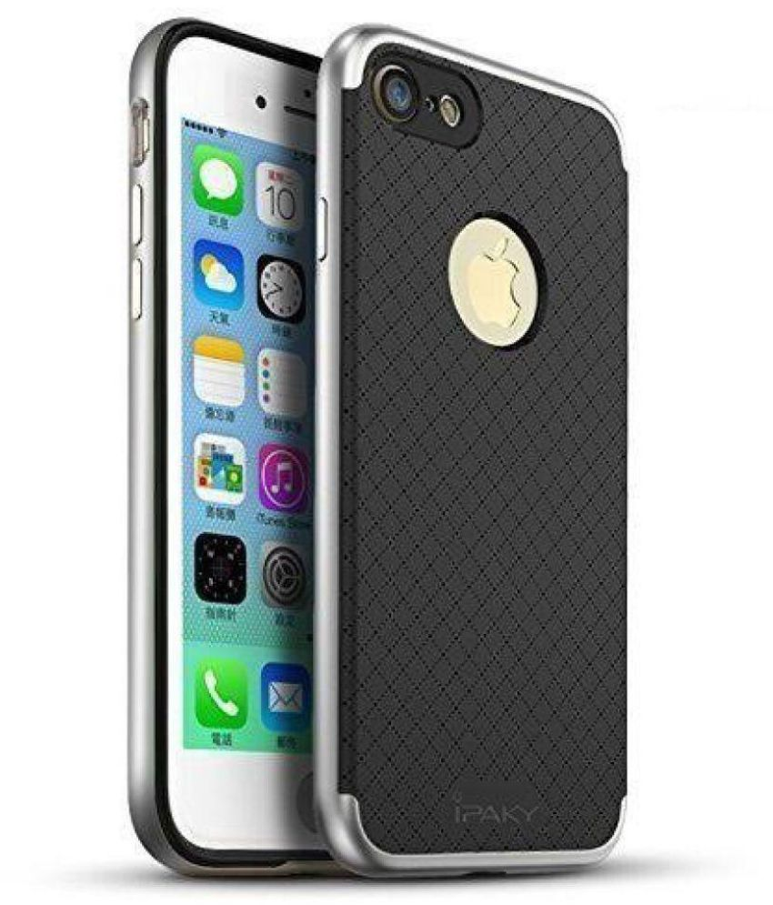 Apple iPhone 7 Plus Soft Silicon Cases PREMSONS - Black