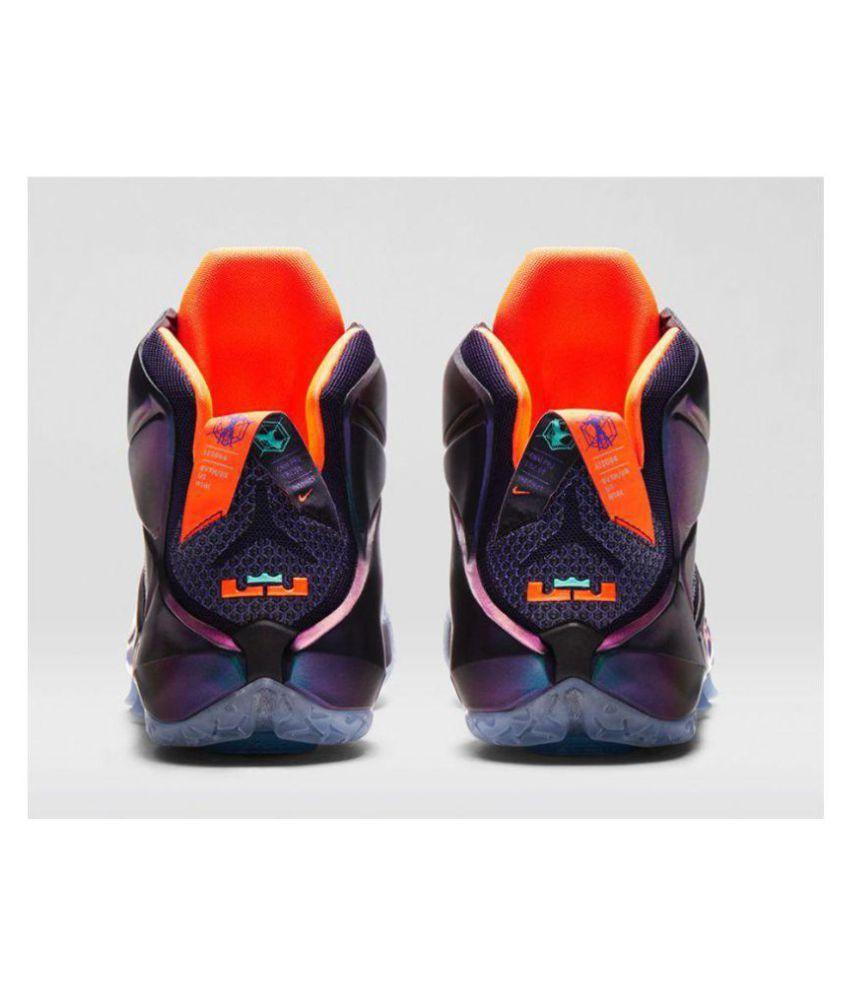 9897510d0120 Nike lebron james 12 Purple Basketball Shoes - Buy Nike lebron james ...