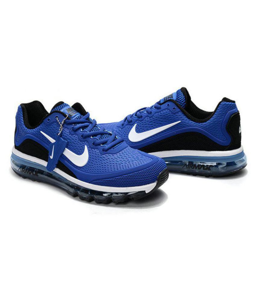 ac8f2291f8a156 Nike Air Max 2017 Blue Running Shoes - Buy Nike Air Max 2017 Blue Running  Shoes Online at Best Prices in India on Snapdeal