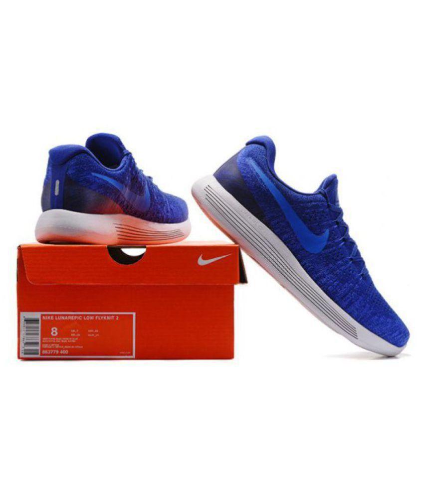54bf46b9b6985 ... where to buy nike lunar epic low flyknit 2 blue running shoes 6fce9  1dac0 coupon code ...