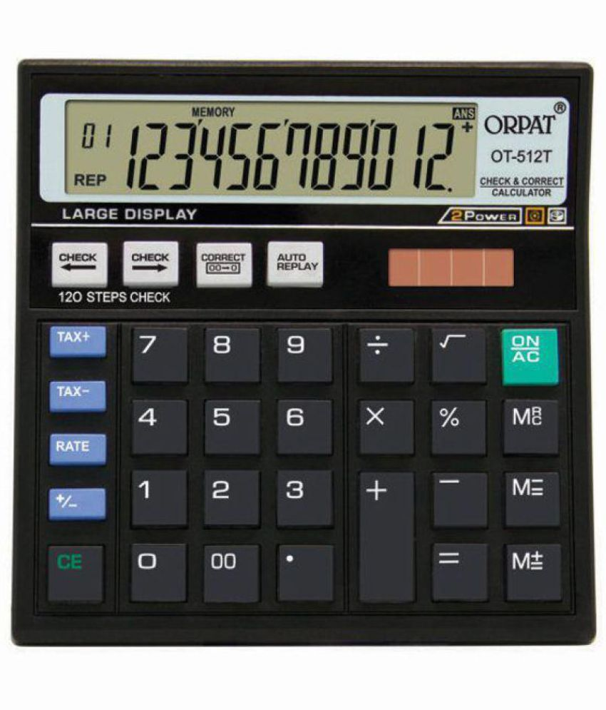 Orpat OT-512GT Basic Calculator