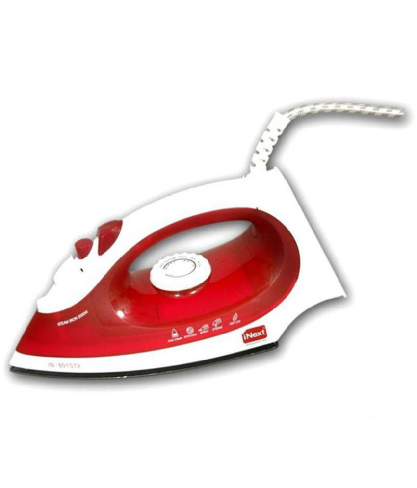 Inext IN-701 Steam Iron red
