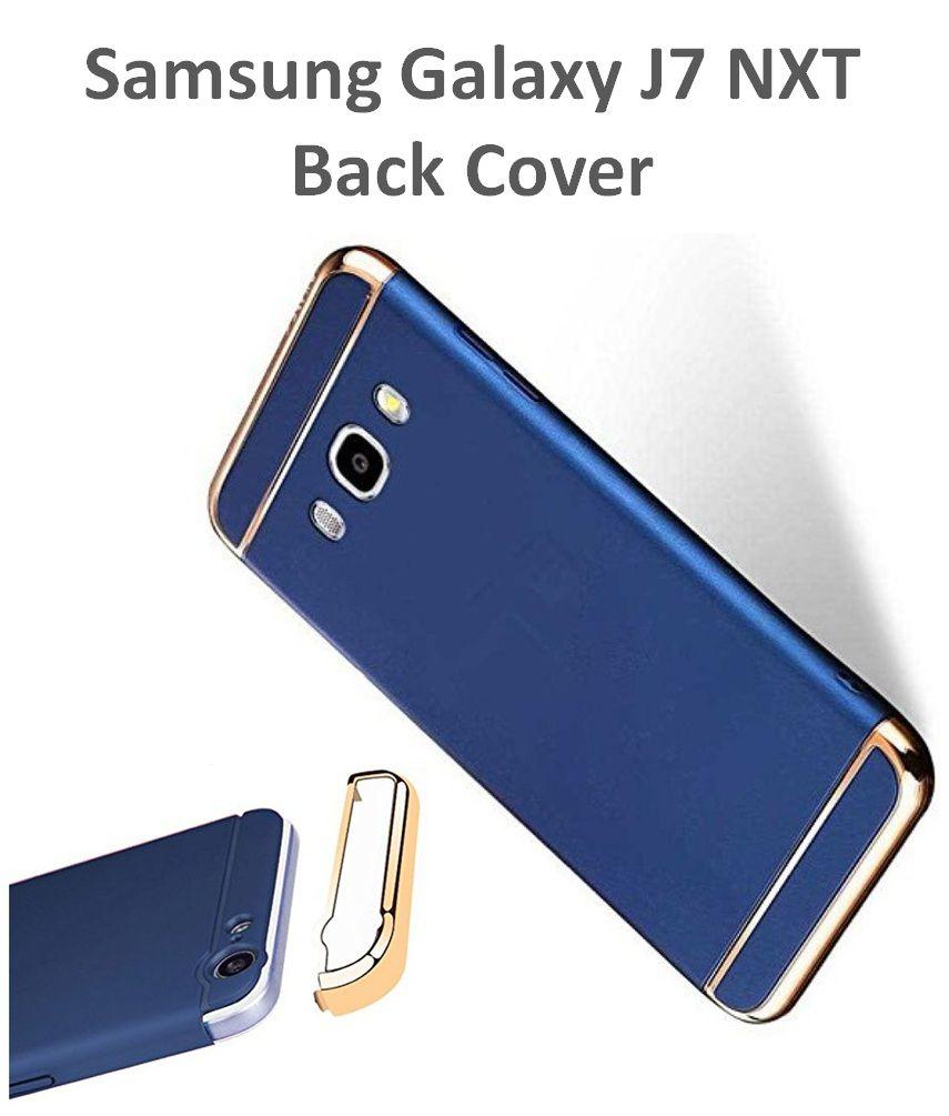 lowest price dbd97 4c8b7 Samsung Galaxy J7 NXT 3in1 Plain Cases 2Bro - Blue