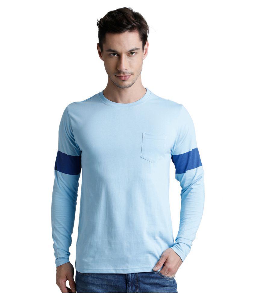 Dillinger Blue Full Sleeve T-Shirt