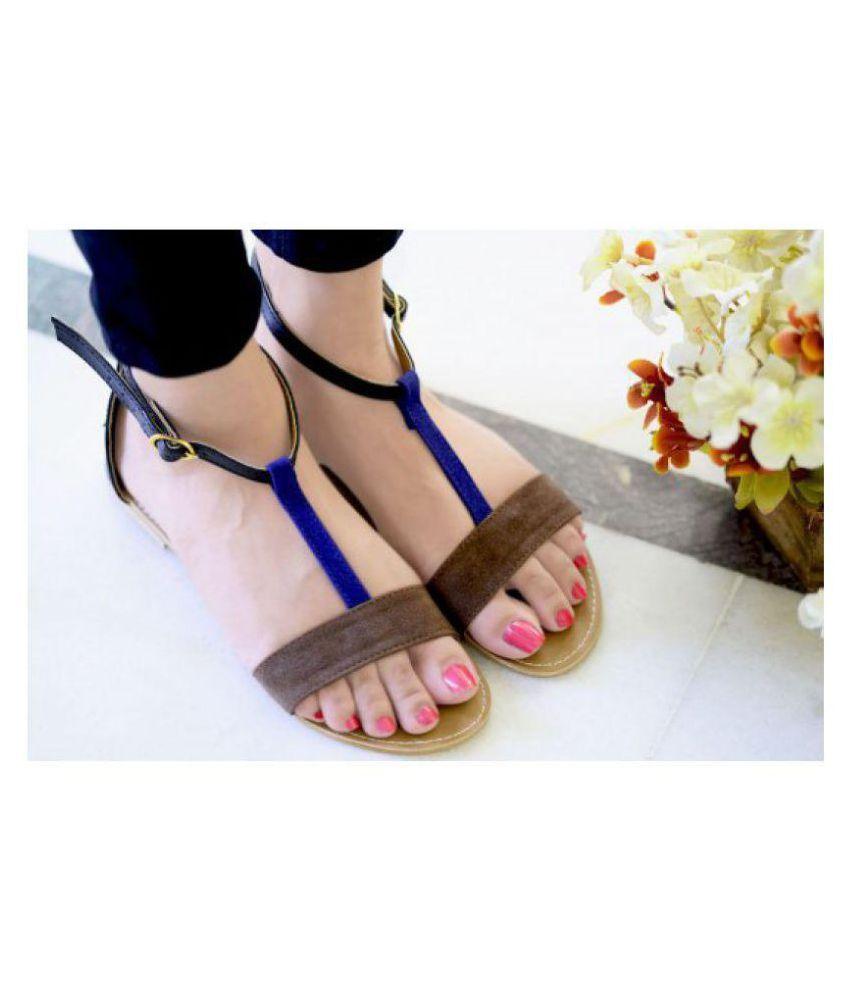 PKKART Blue Flats