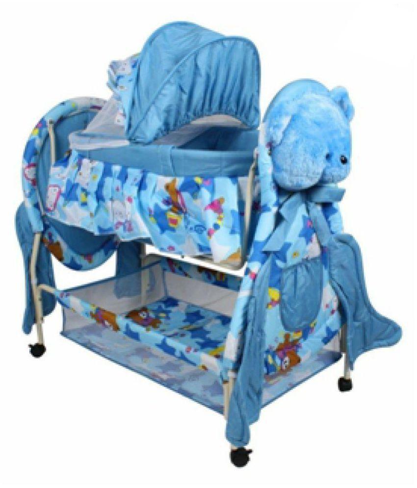 Baby POOH CRADLE (Blue) SE-JP-50