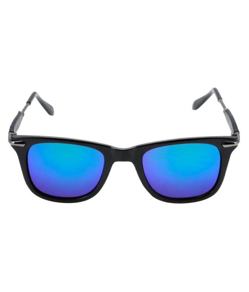 Love Fashion Blue Wayfarer Sunglasses ( SUN_051 )