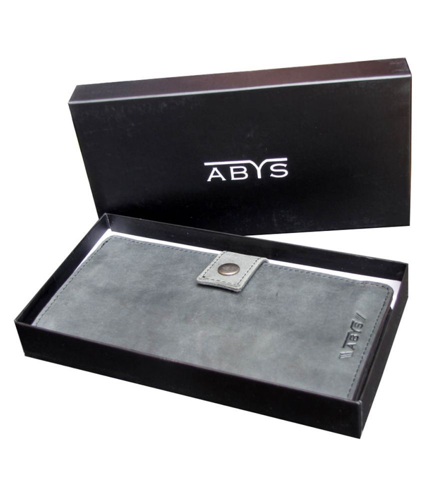 ABYS Gray Wallet