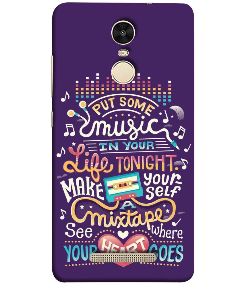 factory authentic d6ce4 3acf9 Redmi Note 3 Printed Cover By Zeffcon Hard Plastic Case (Design 7303)
