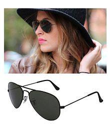8a11c1b0fee Burberry Black Aviator Sunglasses ( Bb20089 ) - Buy Burberry Black ...