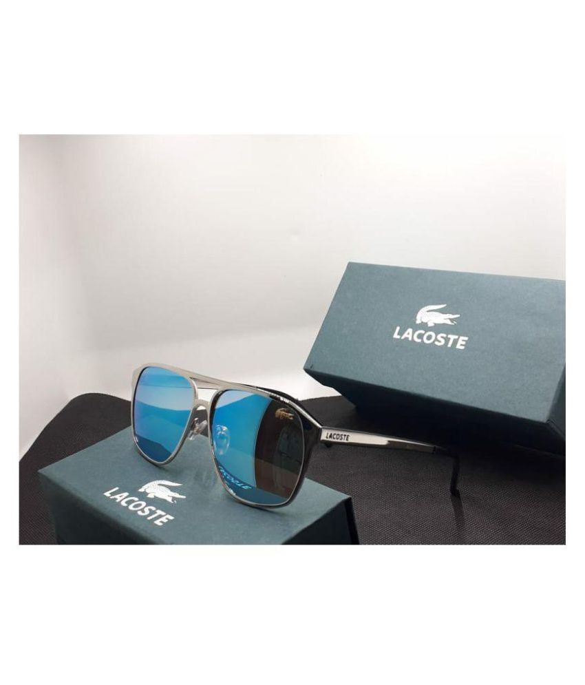 824388a47af LACOSTE SUNGLSS Blue Wayfarer Sunglasses ( L144 ) - Buy LACOSTE SUNGLSS  Blue Wayfarer Sunglasses ( L144 ) Online at Low Price - Snapdeal