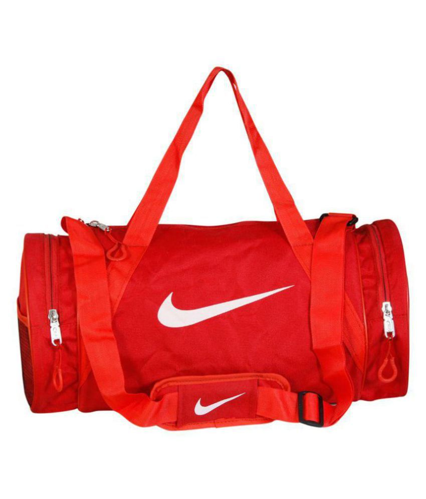 9f039efb9b Nike Medium Nylon Gym Bag Travel Bag For Men   Women Gym Bag - Buy Nike  Medium Nylon Gym Bag Travel Bag For Men   Women Gym Bag Online at Low Price  - ...