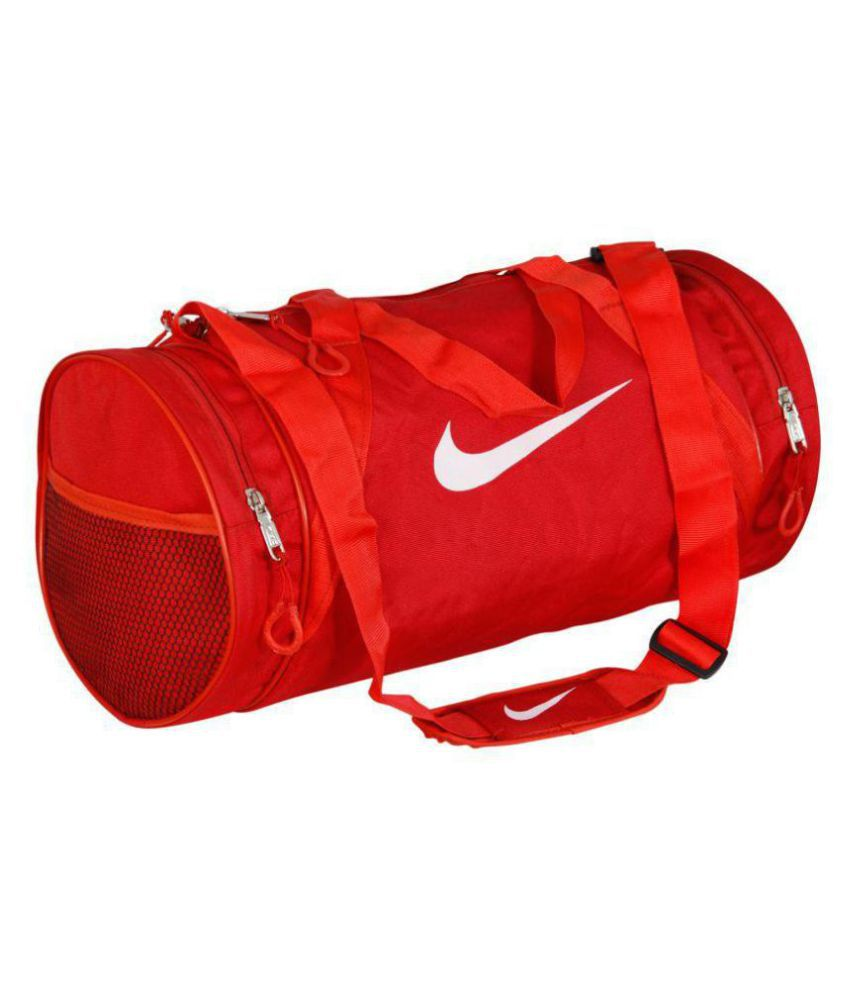 d40e8f5c1a Nike Medium Nylon Gym Bag Travel Bag For Men   Women Gym Bag - Buy ...