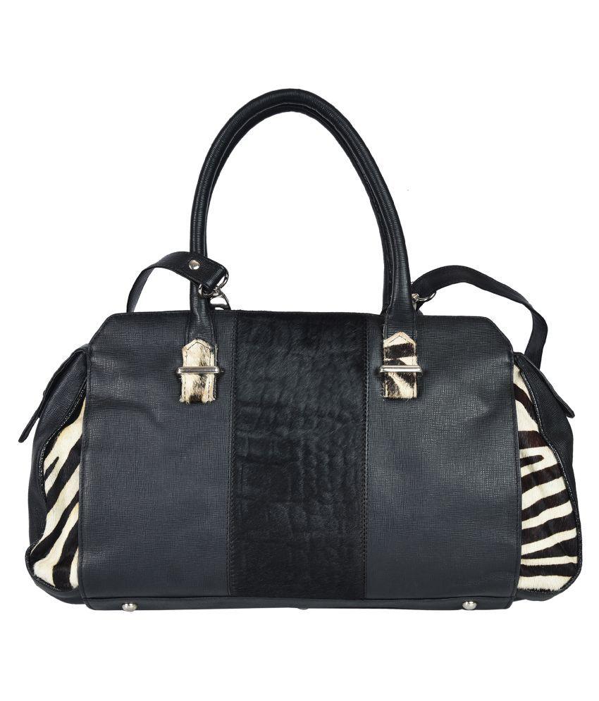 Bagatella Black Pure Leather Shoulder Bag