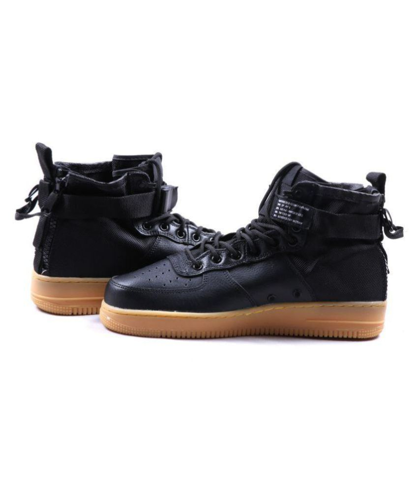 Nike NIKE SF AIRFORCE 1 MID Sneakers Black Casual Shoes