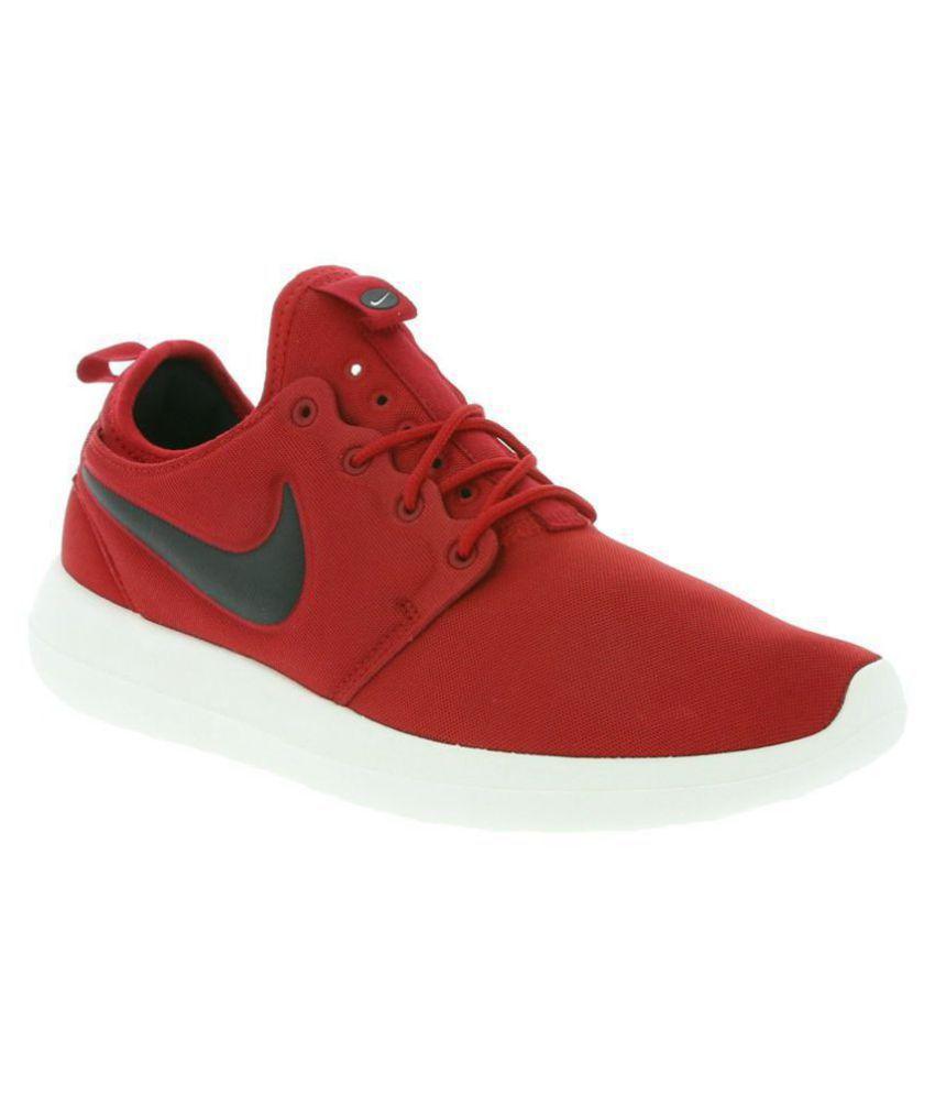 Nike Roshe Two Red Running Shoes - Buy Nike Roshe Two Red Running ... 1127566ff