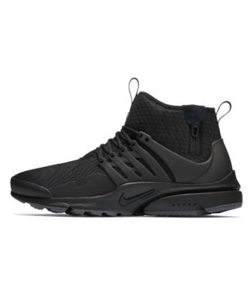nike. Presto Long Acronym Black Black Running Shoes - Buy nike. Presto Long  Acronym Black Black Running Shoes Online at Best Prices in India on Snapdeal 4e4523e80