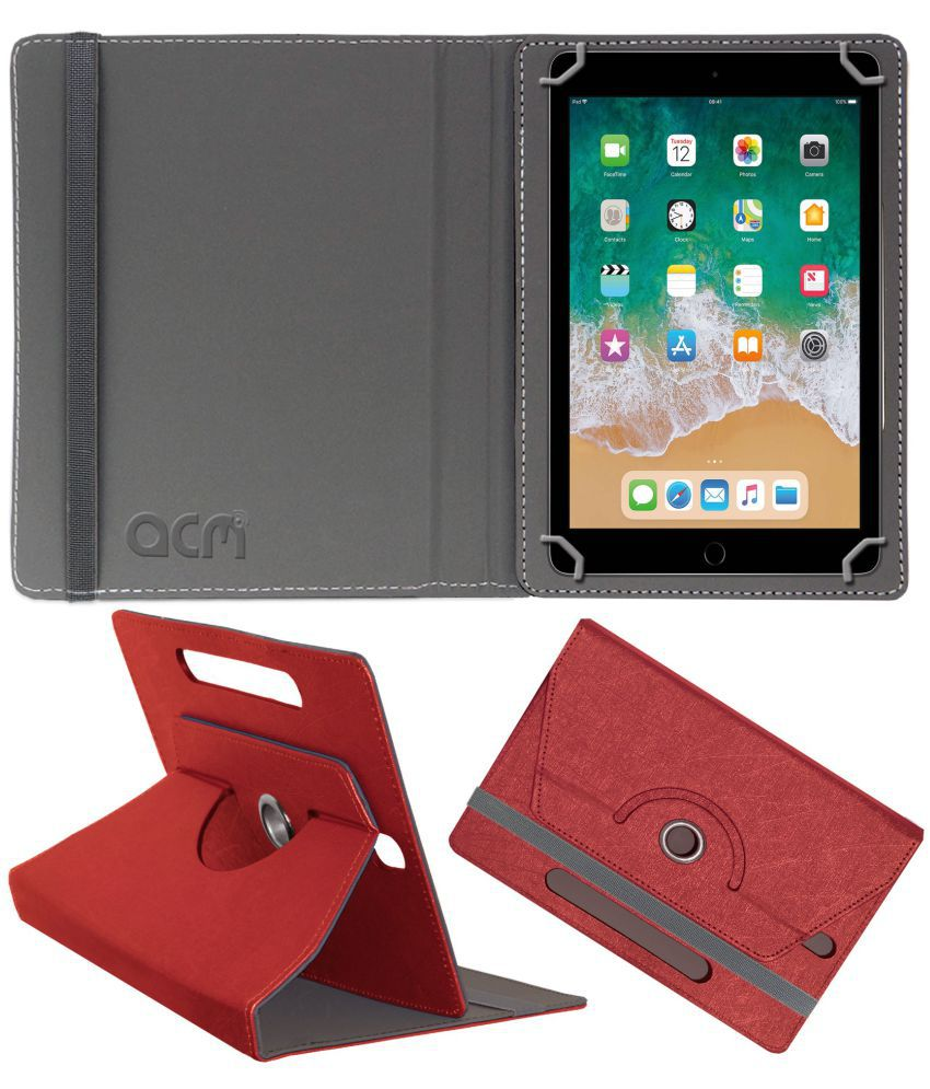 Apple Ipad Pro 10.5 Flip Cover By ACM Red