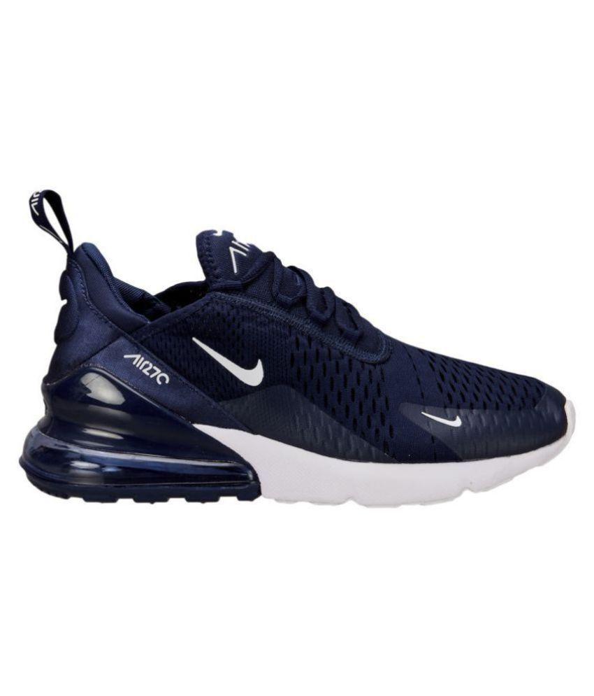 a875045847159 Nike Air Max 270 Blue Running Shoes - Buy Nike Air Max 270 Blue ...