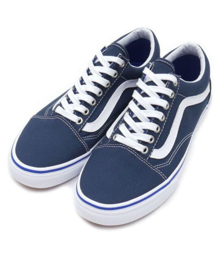 stylish design highly praised best online VANS Old Skool Blue Casual Shoes