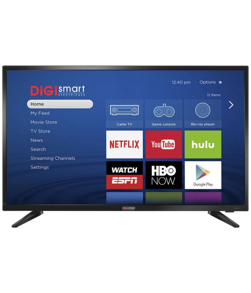DIGI SMART 40 101 6 cm ( 40 ) Android Full HD (FHD) LED Television With 1+1  Year Extended Warranty