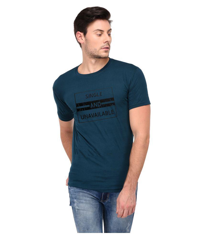 Trends Tower Green Half Sleeve T-Shirt