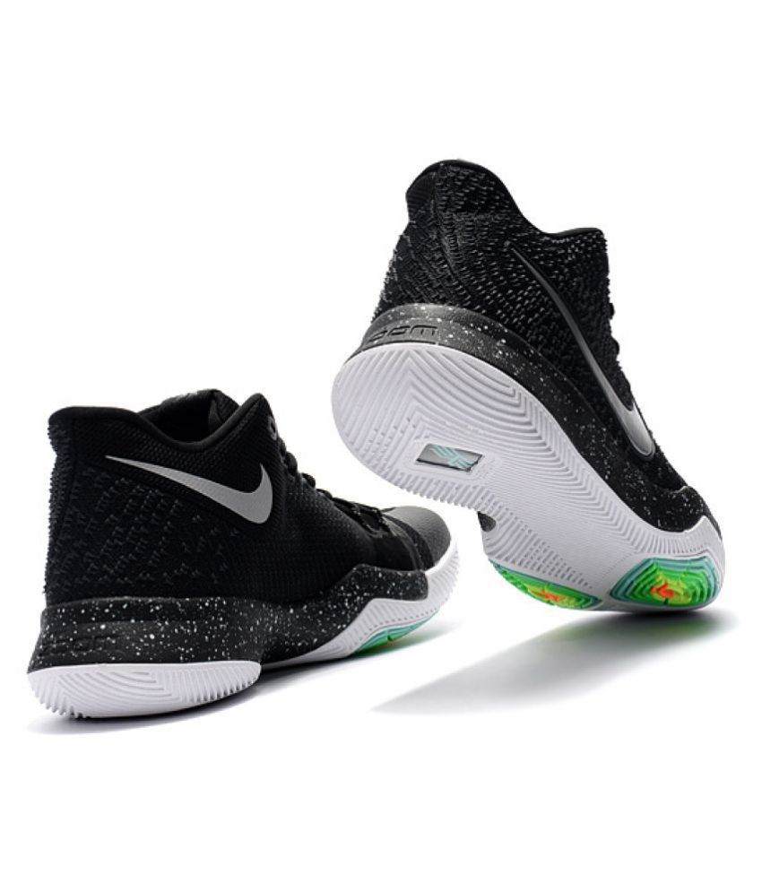hot sale online a0ce4 2e2d6 Nike kyrie 3 Black Basketball Shoes