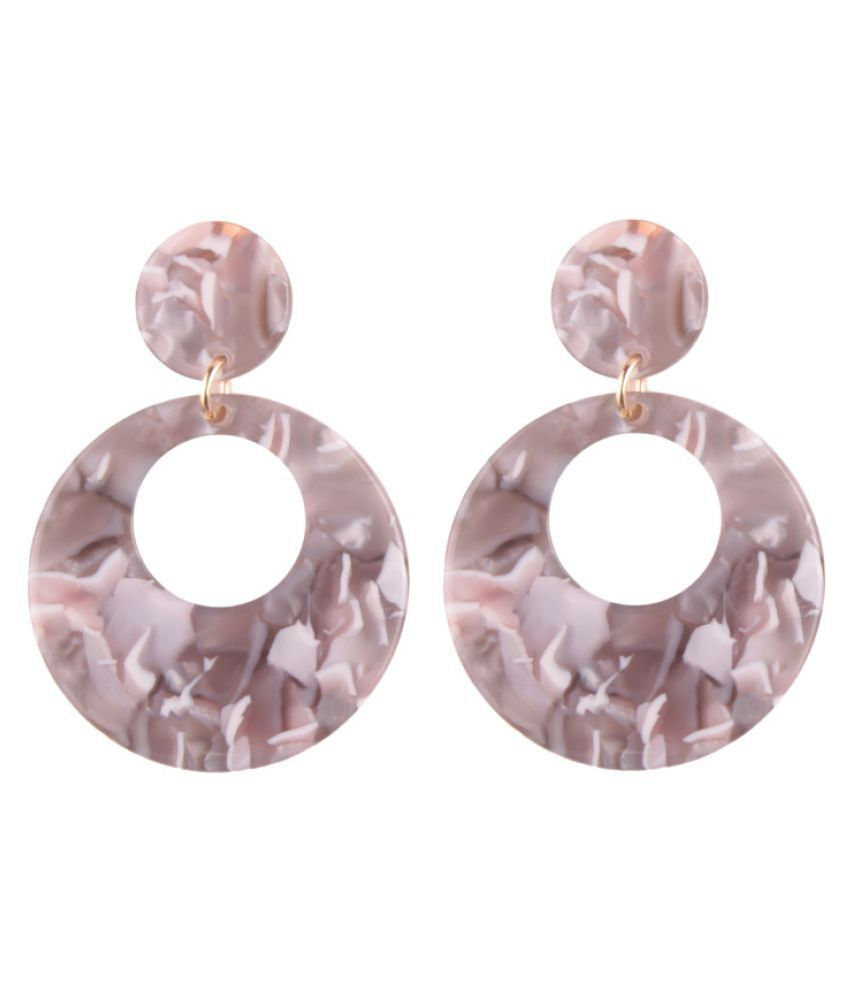 Levaso Fashion Jewelry Womens Earrings Ear Studs Floral Flower 1Pair Personality Gifts Multi Color