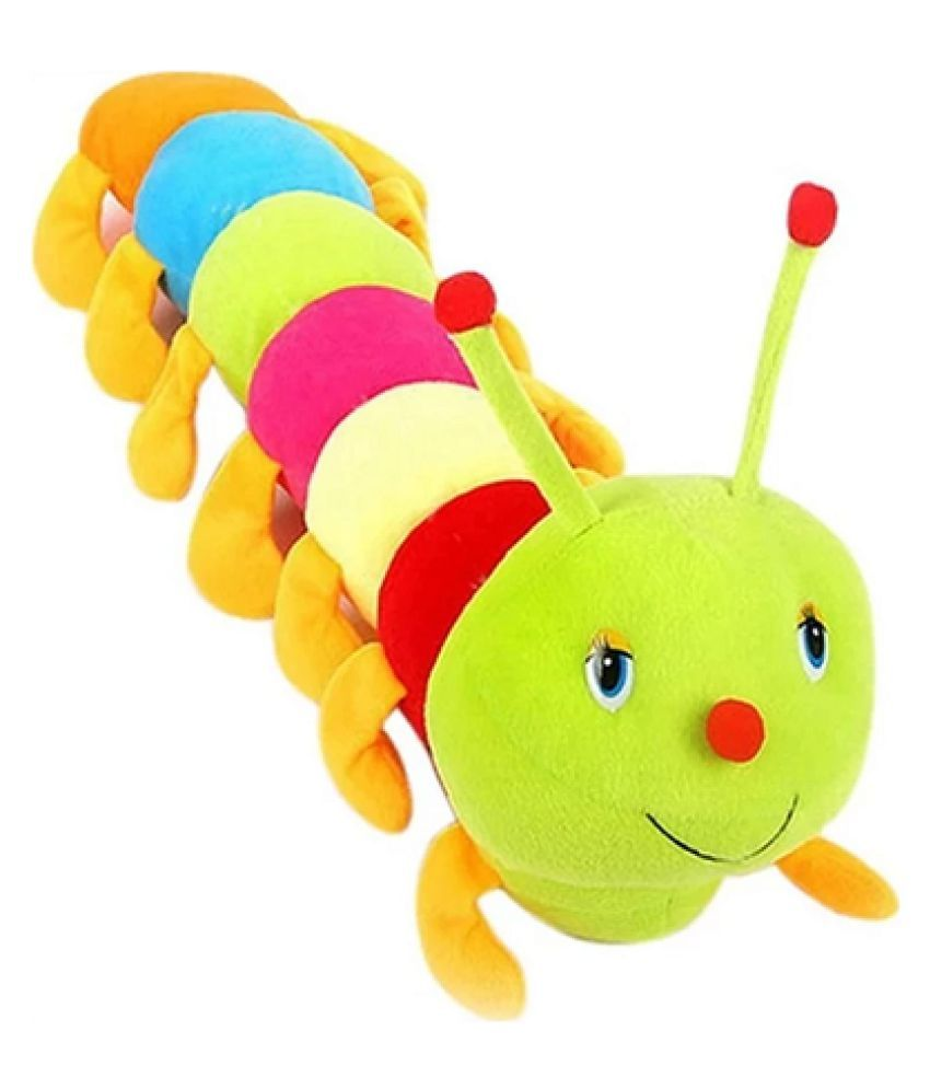 Beautiful Multicolour Caterpillar Teddy 55 cm