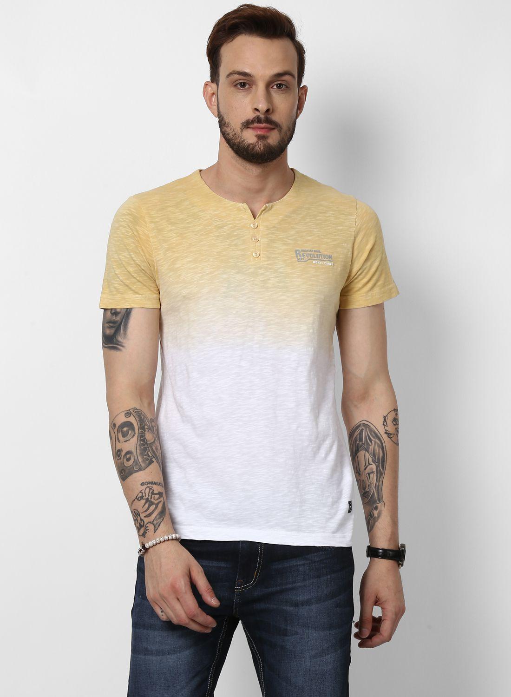 Monte Carlo Yellow Half Sleeve T-Shirt