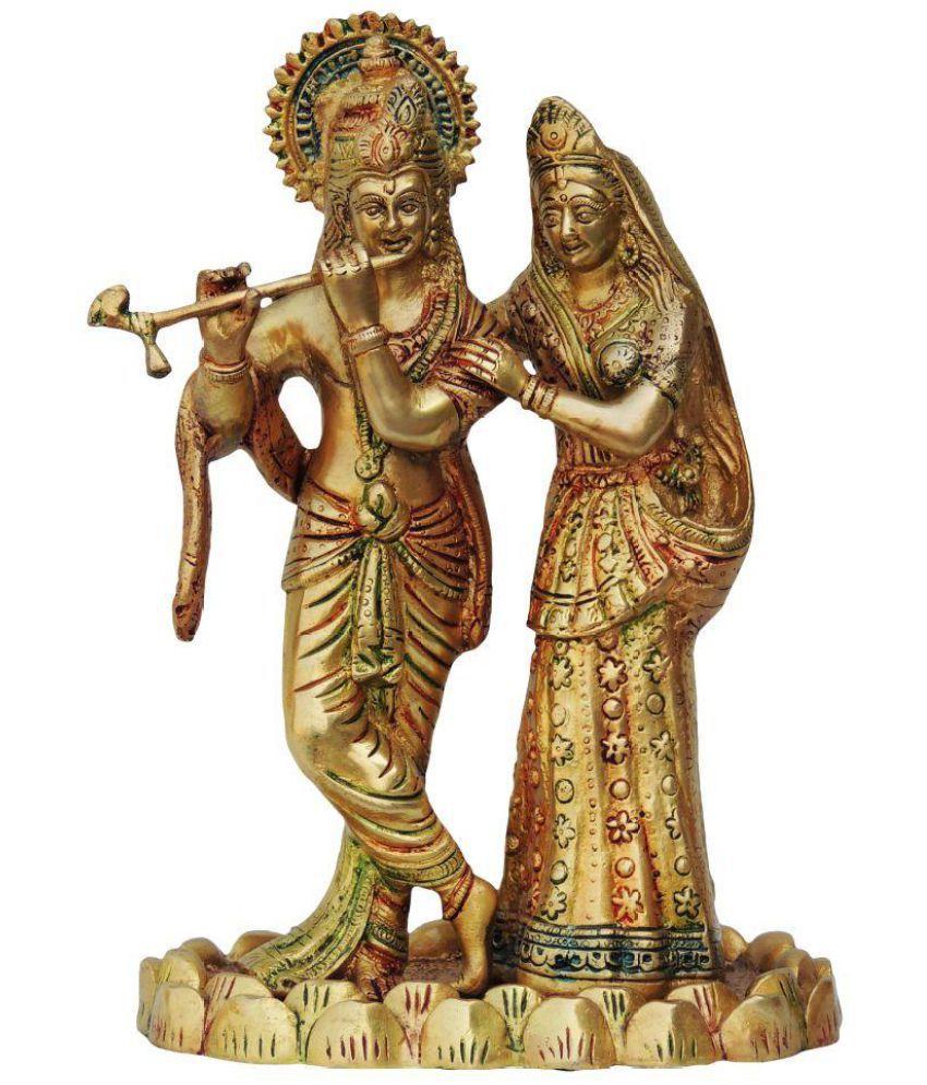 Brass Gift Center Radha Krishan Brass Idol
