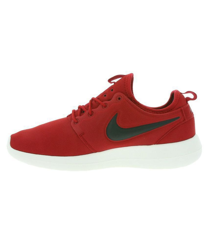 28de07a0f8ff3 Nike Roshe Two Red Running Shoes - Buy Nike Roshe Two Red Running ...