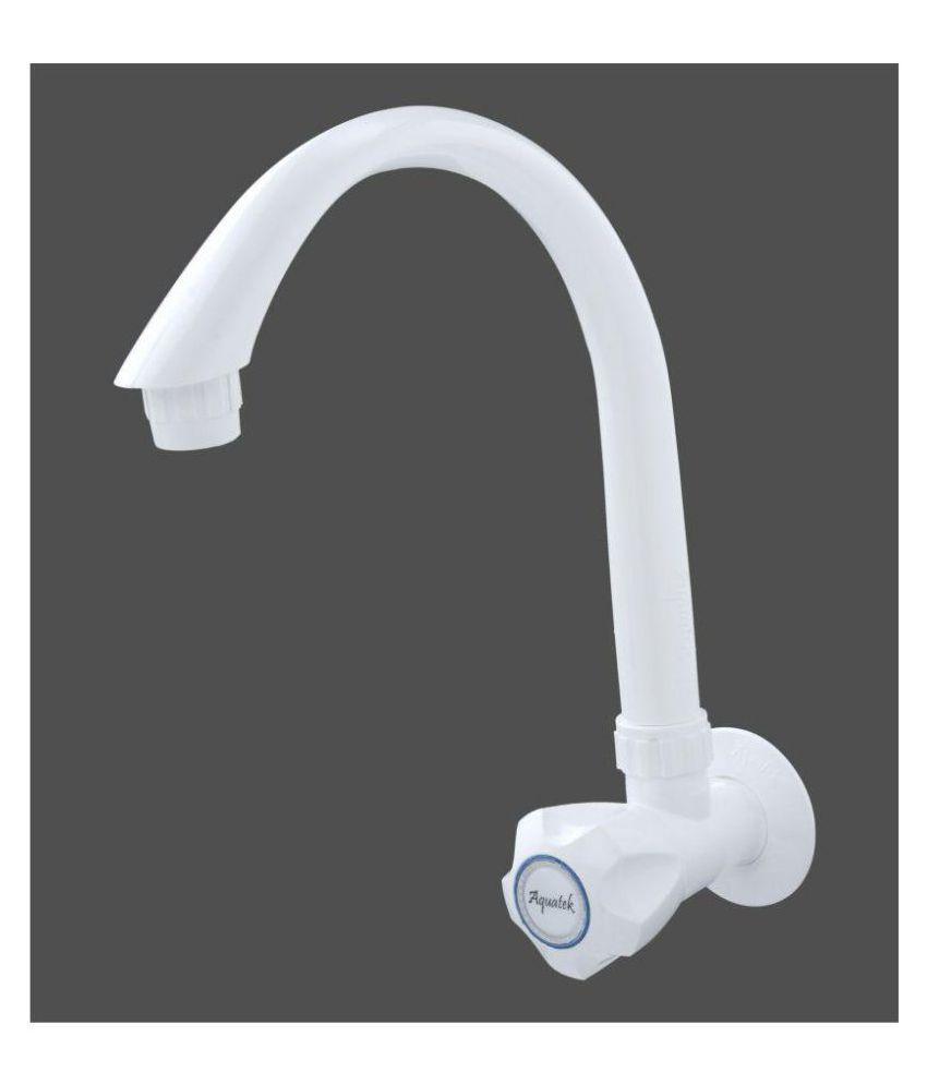 buy aquatek full turn half turn plastic abs kitchen sink tap rh snapdeal com