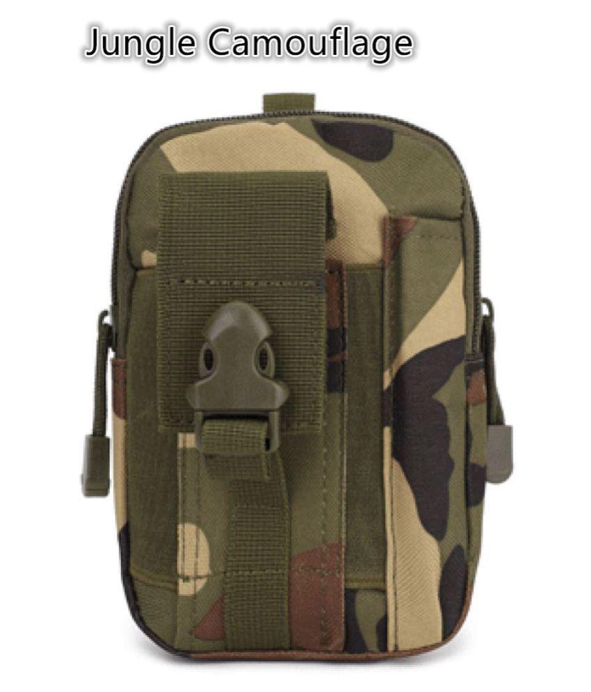 Guru Stylish Jungle Camouflage Travel Waist Bag