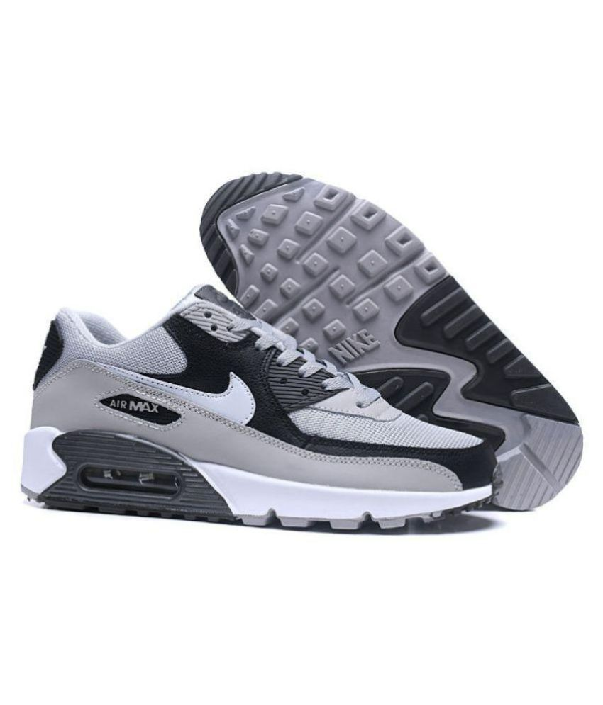 d83e43d4350e Nike Air Max Grey Running Shoes - Buy Nike Air Max Grey Running Shoes  Online at Best Prices in India on Snapdeal