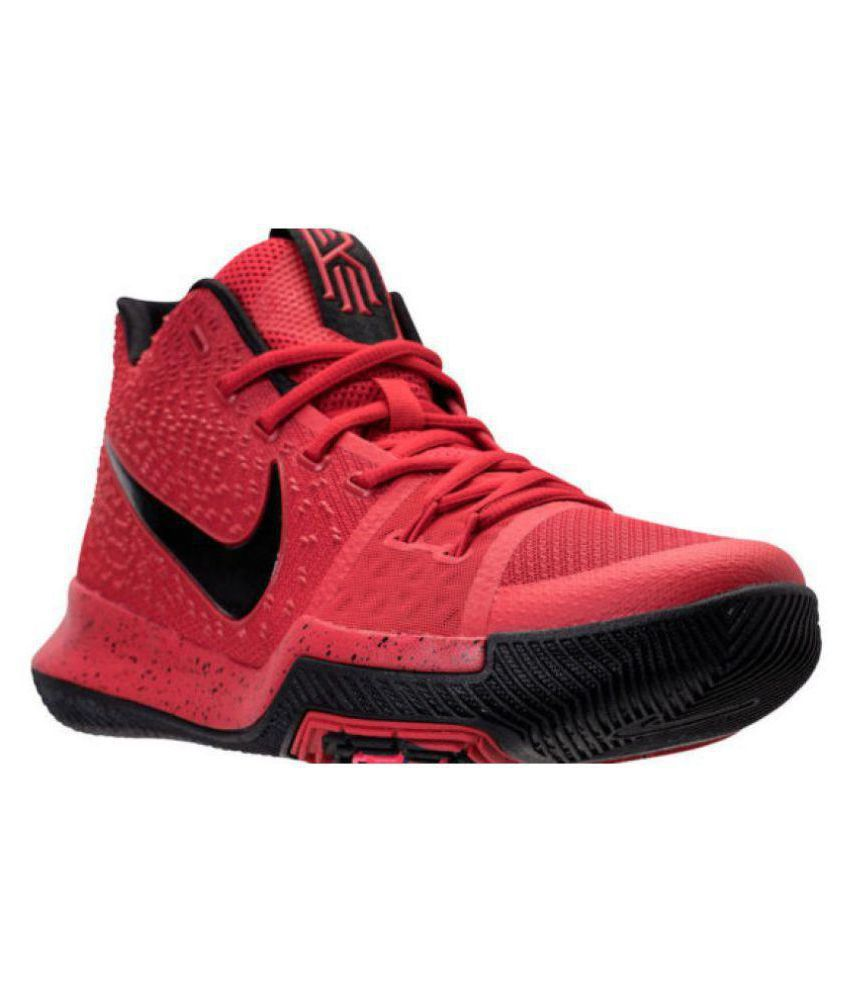 Nike kyrie 3 Red Basketball Shoes - Buy Nike kyrie 3 Red Basketball Shoes  Online at Best Prices in India on Snapdeal fb343197b