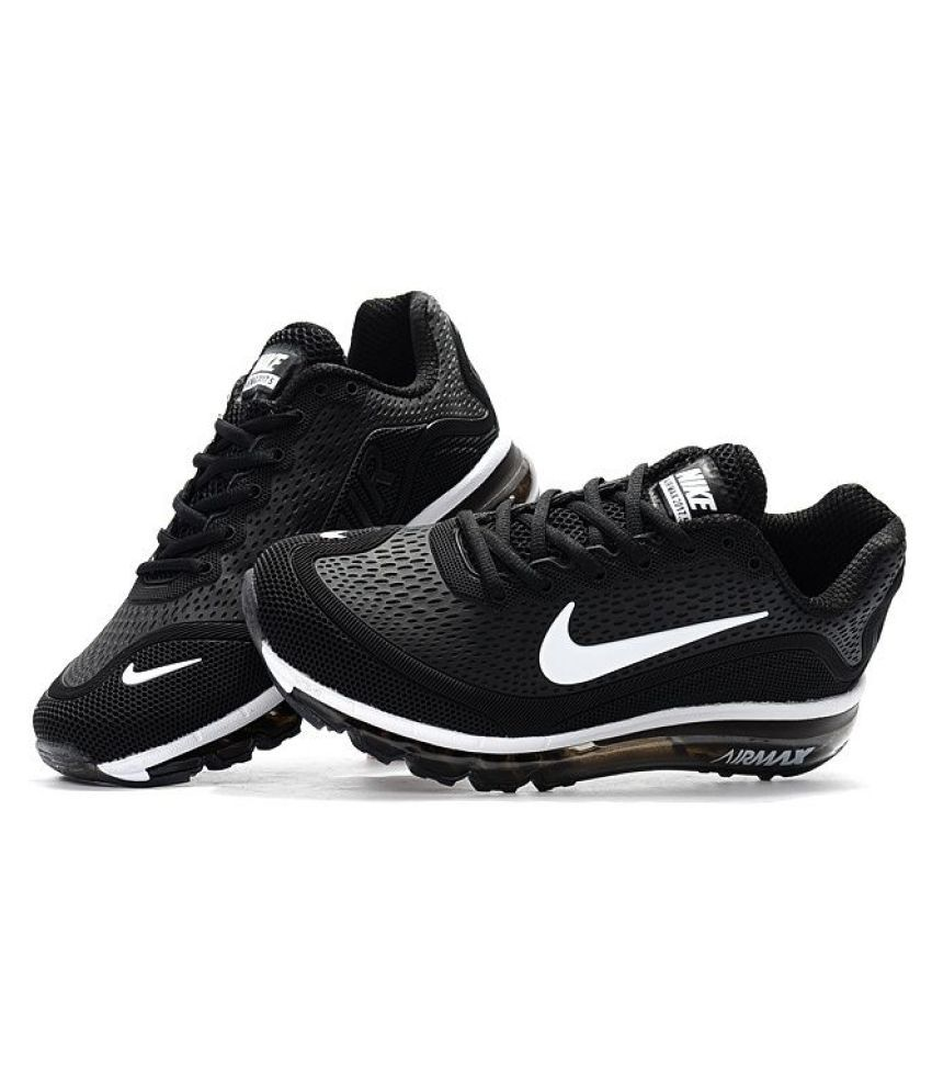 new concept ce786 47a21 Zoom Air 2017.5 Ghost Black Running Shoes - Buy Zoom Air 2017.5 Ghost Black  Running Shoes Online at Best Prices in India on Snapdeal