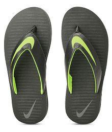 2549a01b985ab0 Green Mens Slippers   Flip Flops  Buy Green Mens Slippers   Flip ...