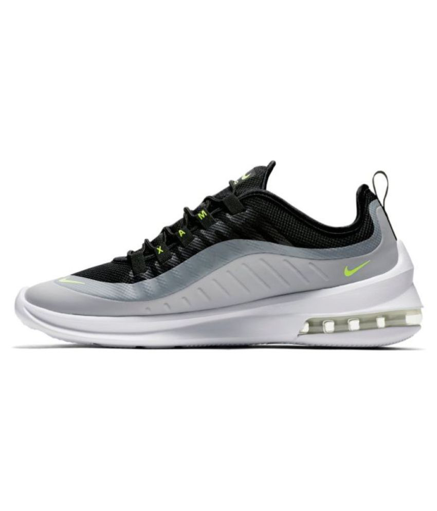 outlet store f7647 1c2b3 Nike Air Max Axis Grey Running Shoes