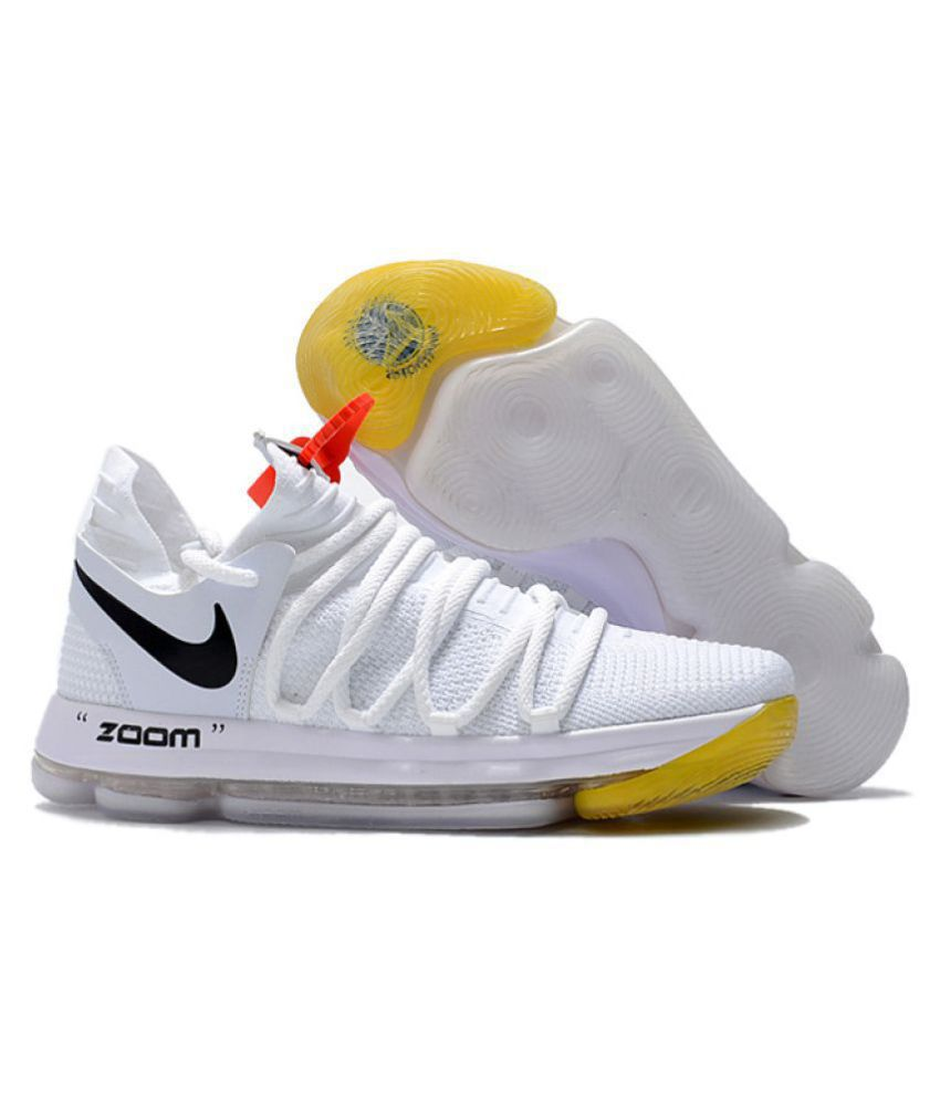 Nike KD 10 White Basketball Shoes - Buy Nike KD 10 White Basketball ... bfbf54c06