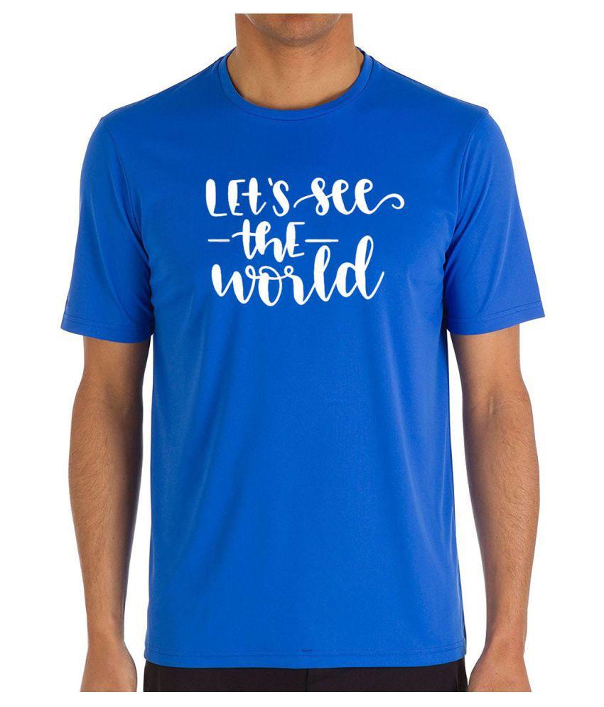 Inkwasi Blue Half Sleeve T-Shirt Pack of 1