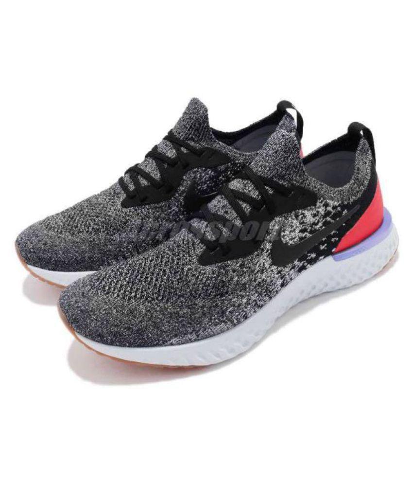 new concept 3da6c b0222 Nike LUNAR EPIC REACT Grey Running Shoes