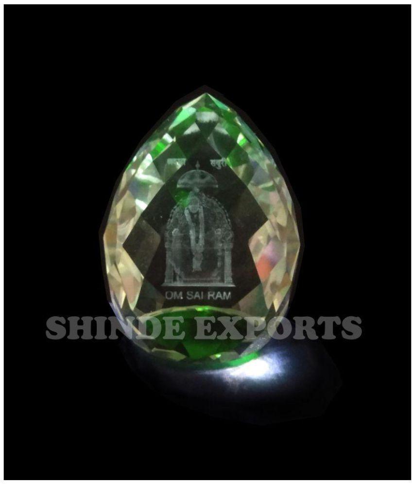 Shinde patil exports Sai Baba Crystal Idol