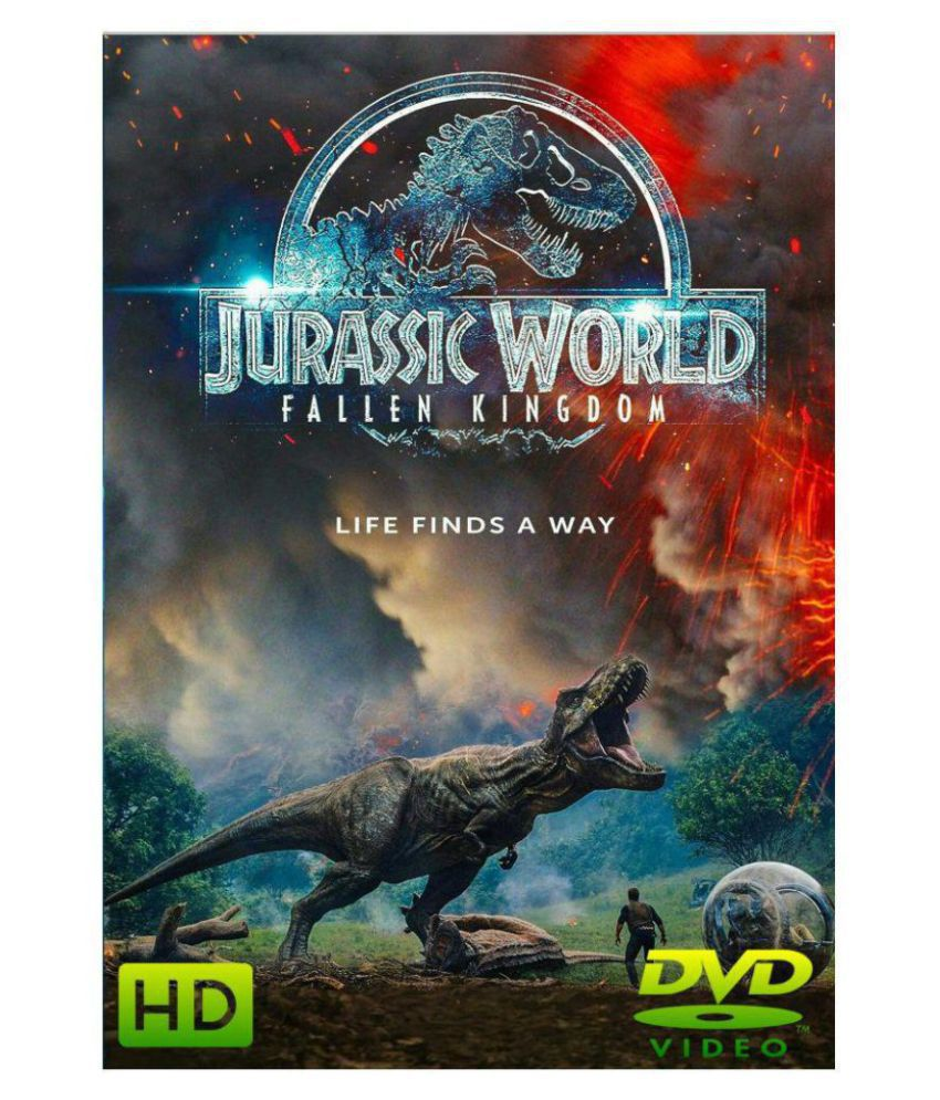 JURASSIC WORLD - FALLEN KINGDOM ( DVD )- Hindi