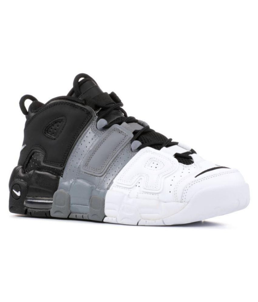 No es suficiente Vagabundo carrera  Nike AIR UPTEMPO TRIPLE D Black Basketball Shoes - Buy Nike AIR UPTEMPO  TRIPLE D Black Basketball Shoes Online at Best Prices in India on Snapdeal