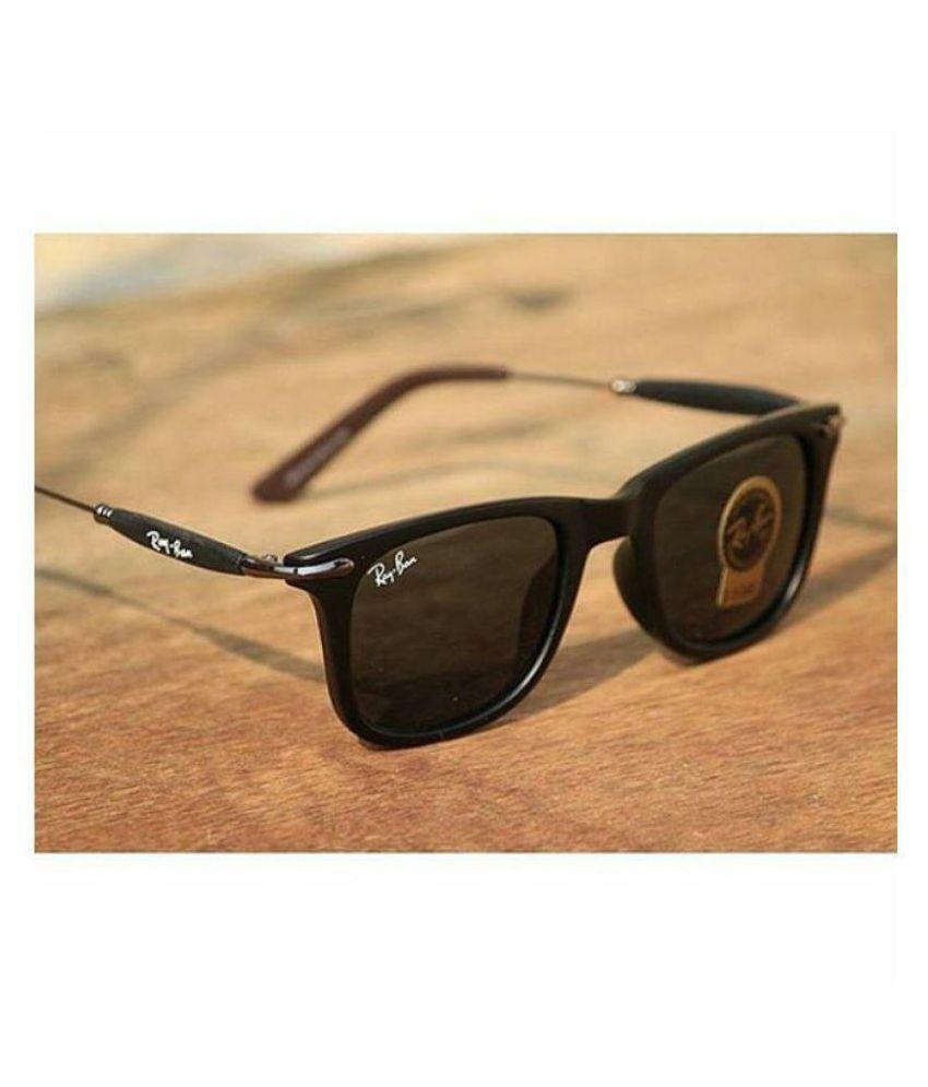 f4fd487e88 Ray Ban Avaitor Black Wayfarer Sunglasses ( RB 2148 ) - Buy Ray Ban ...