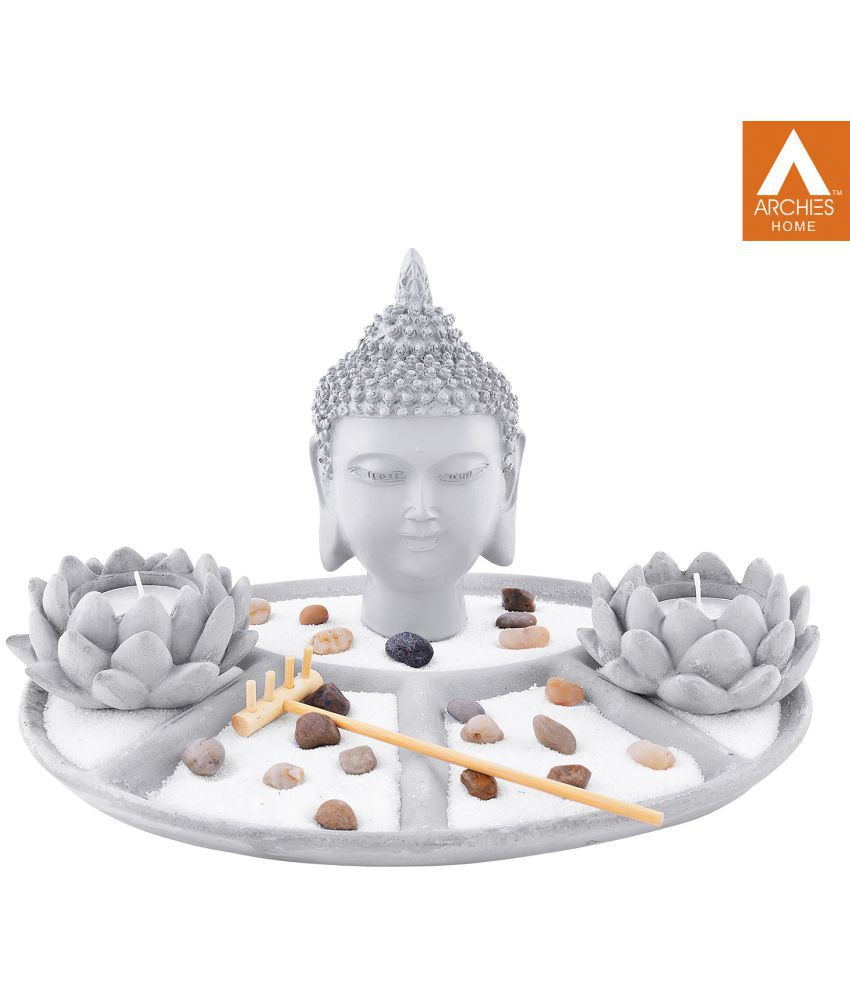 Archies Buddha Polyresin Idol