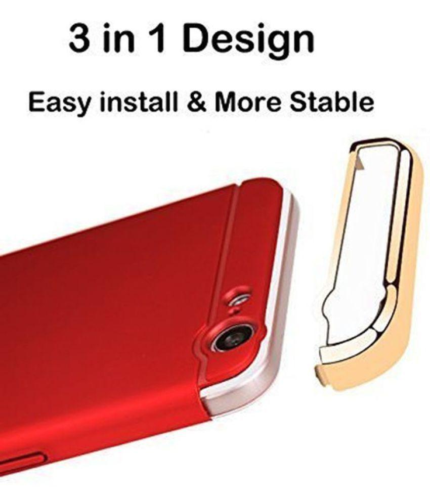 new arrival 64060 da28b Samsung Galaxy J5 Plain Cases Doyen Creations - Red 3 In 1 Chromium